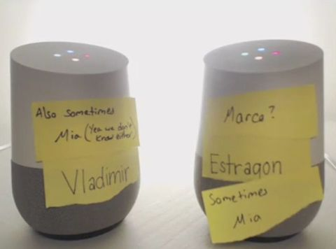 Google Homes Conversation