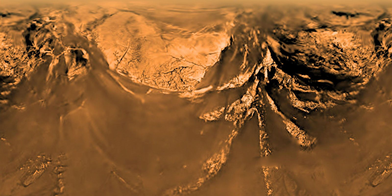 See What the Huygens Spacecraft Saw When It Landed on Titan