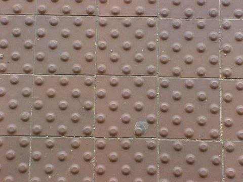 tacticle pavement