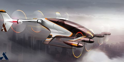 Airbus Wants to Test Its Flying Car Prototype This Year