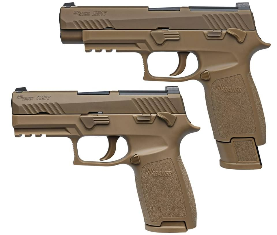 The Sig P320 is the U S  Army's New Sidearm