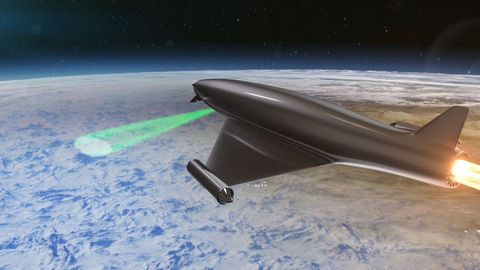 Experimental Lasers Could Temporarily Turn Earth's Atmosphere Into a Magnifying Glass
