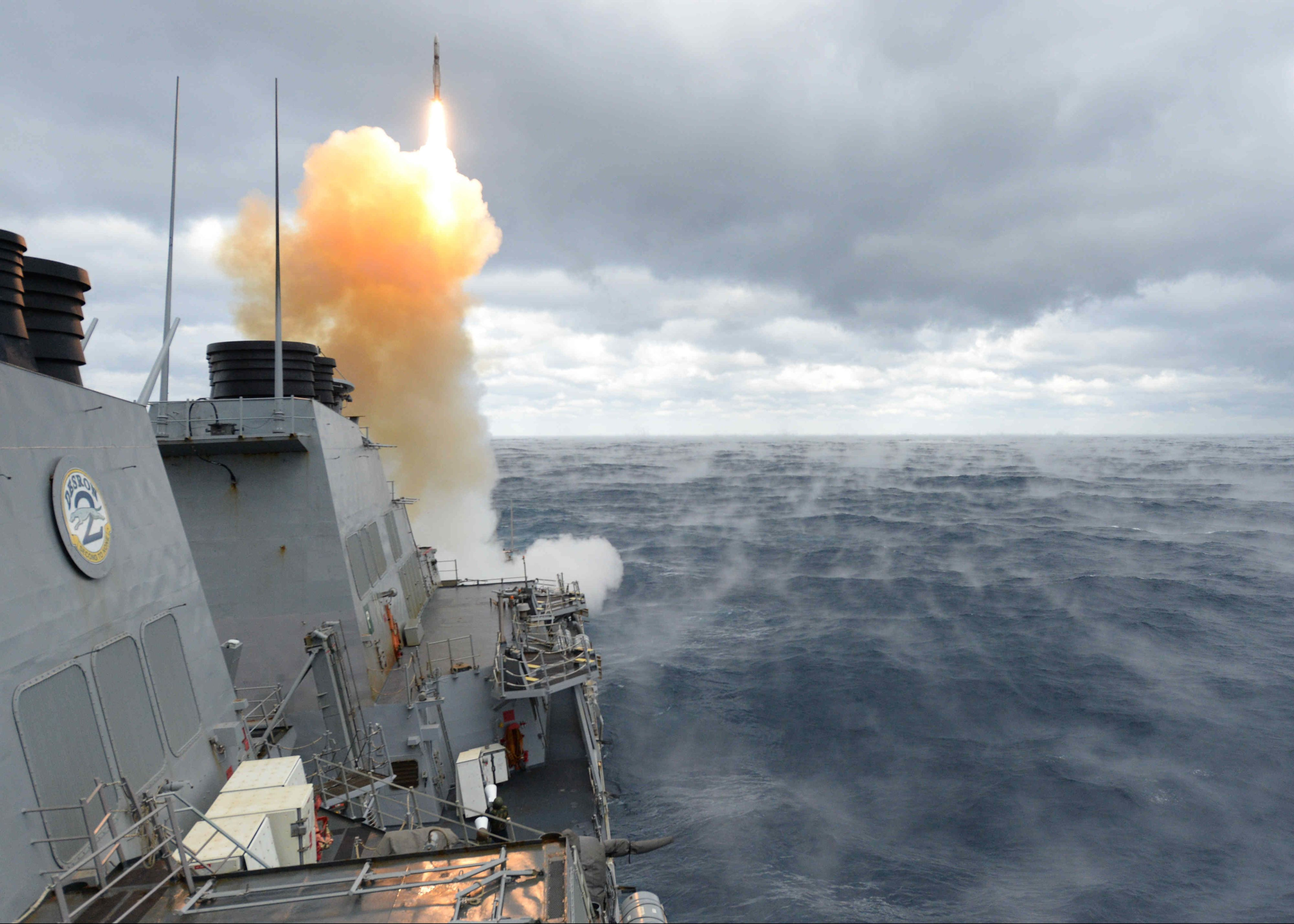 Watch the Navy Launch Its Newest Missile in 360-Degree Video