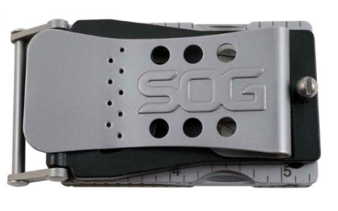 This Belt Buckle is Not-So-Secretly a Multitool