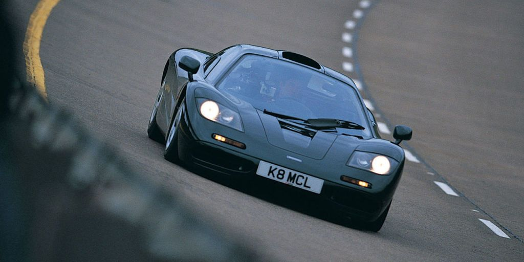 The 240-MPH McLaren F1 Became the World's Fastest Car Without Anybody Noticing