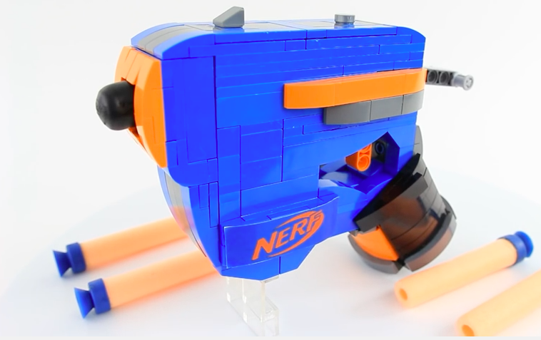 You Can Make Your Own Nerf Gun Out of Legos