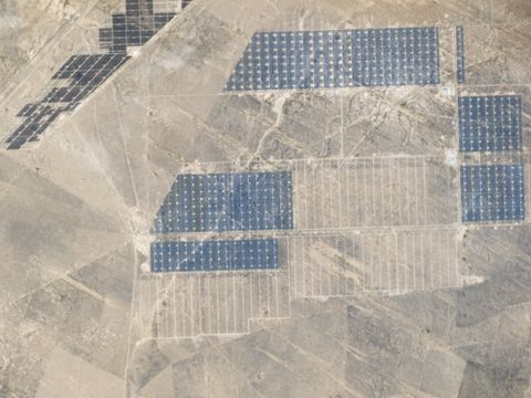 "<p>Located in China's Qinghai province, this is officially the largest solar park in the world, stretching to about 27 square kilometers (or about 10 square miles). This <a href=""https://www.theguardian.com/environment/2017/jan/19/china-builds-worlds-biggest-solar-farm-in-journey-to-become-green-superpower"" data-tracking-id=""recirc-text-link"">park outputs a whooping 850MW of power</a>. The second largest solar farm by output, India's Kamuthi Solar Power project, puts out nearly 200MW less. Although China is the world's largest polluter, this solar park shows that it can capture&nbsp;enough clean energy from the sun to power nearly 200,000 homes.<span data-redactor-tag=""span""></span><br></p>"