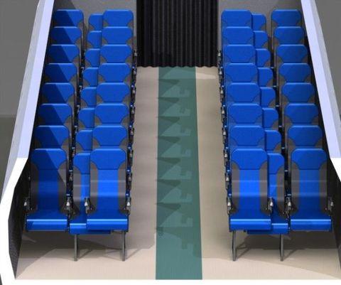 Blue, Electric blue, Majorelle blue, Azure, Cobalt blue, Parallel, Plastic, Rectangle, Armrest,