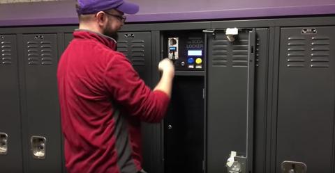 teenage soda locker