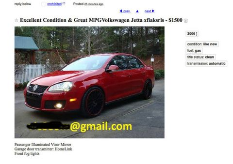 How To Buy A Car On Craigslist Without Getting Scammed