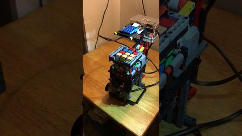 This Isn't the Fastest Rubik's Cube Robot Around, But it May Be the Most Adorable
