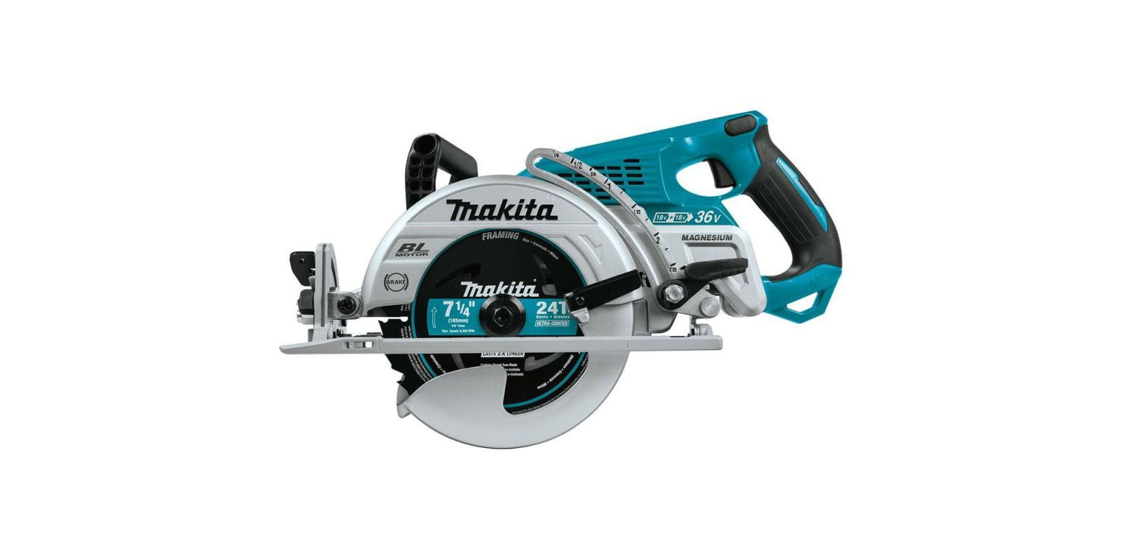 Here it Is, the First Cordless Rear-Handle Circular Saw