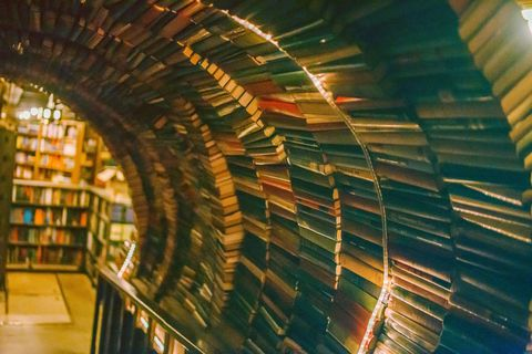 This cavernous bookstore occupies a former bank in downtown L.A., and the old vault door serves as a portal to the crime and mystery section. Unsurprisingly, its incredible curved installation of books is like catnip for Instagrammers.