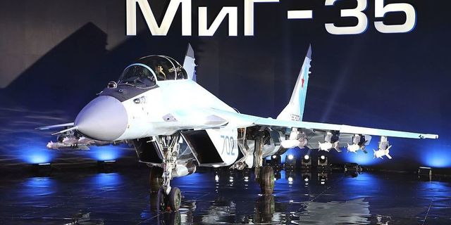 Russia's New MiG-35 Fighter Jet Could Sport Laser Guns