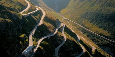 The Greatest Road in the World Might Be Switzerland's Furka Pass