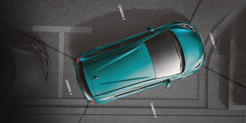 "<p>        Federal law mandates backup cameras as standard by the 2019 model year. But what's happening to the front, sides, and corners of your car? Many automakers employ 360-degree visuals by merging multiple camera views into a ""bird's-eye"" perspective that makes parking in tight spots an absolute breeze. Some even let you control the angles as if you were outside walking around the car.</p>"
