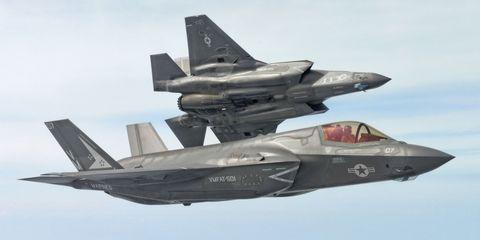 F-35 Scores Impressive 15:1 Kill Ratio at Red Flag War Games