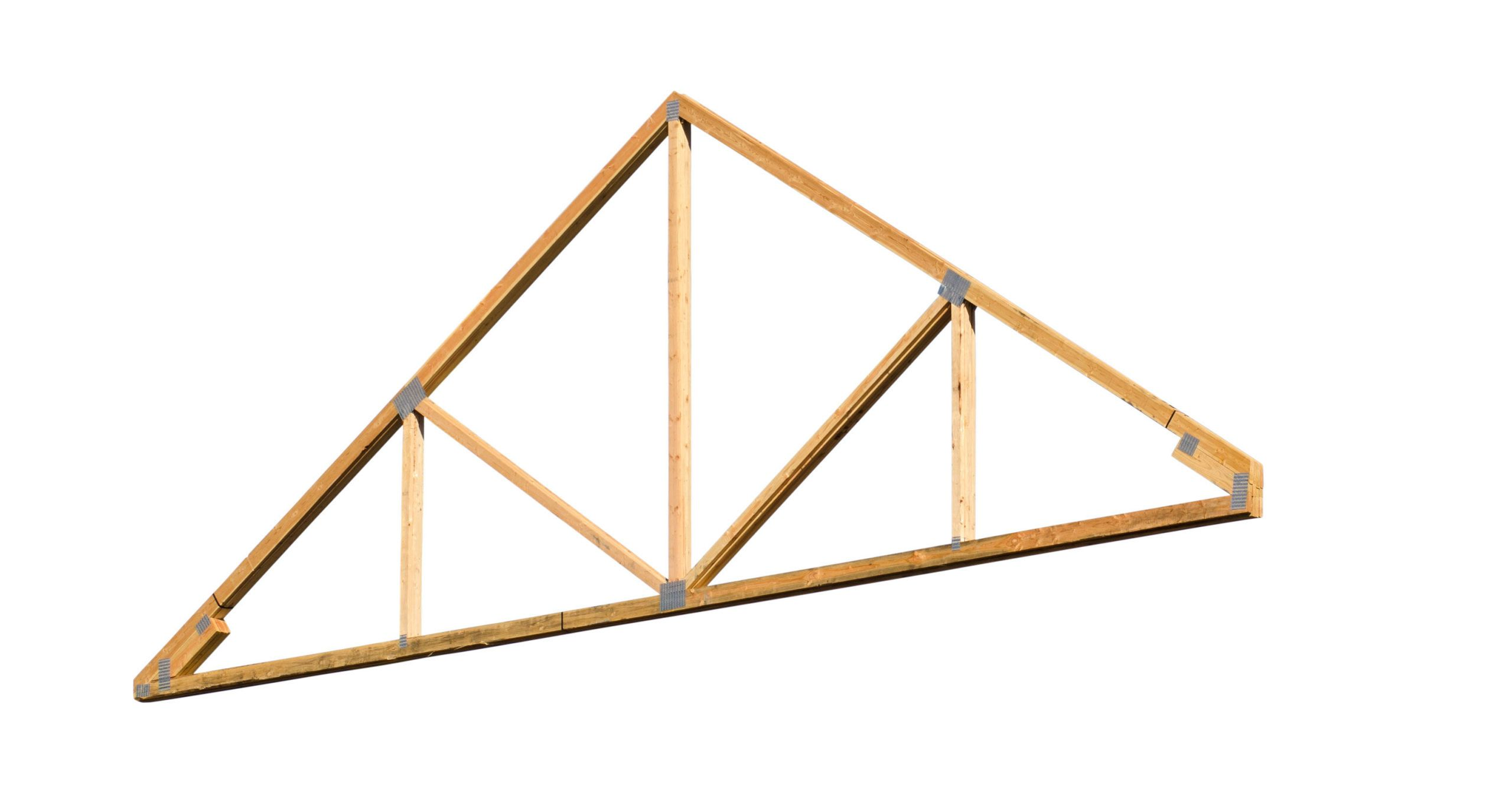 The Inspection Report On Our New House Says We Have Wood Truss Roof  Construction. Whatu0027s That?