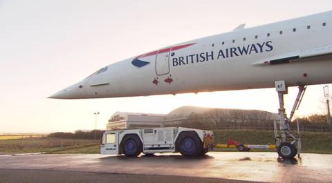 The Last Concorde Finds Its Final Resting Place