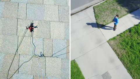 Grass, Line, Slope, Sidewalk, Concrete, Walkway, Lawn, Shadow, Coquelicot, Yard,