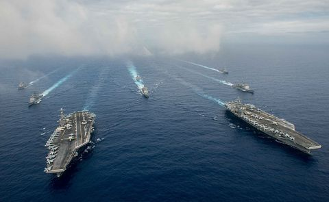 Water, Watercraft, Boat, Naval architecture, Ship, Aircraft carrier, Supercarrier, Water transportation, Dock, Naval ship,