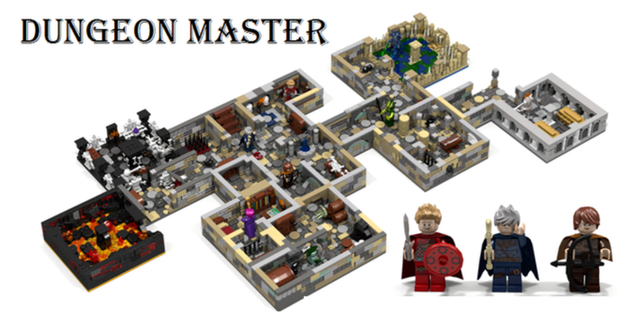 Please, Lego, Make This Amazing Dungeons & Dragons Set