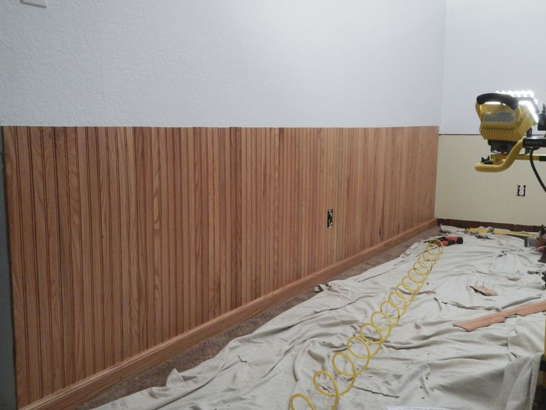 How To Install Bead Board Wainscoting