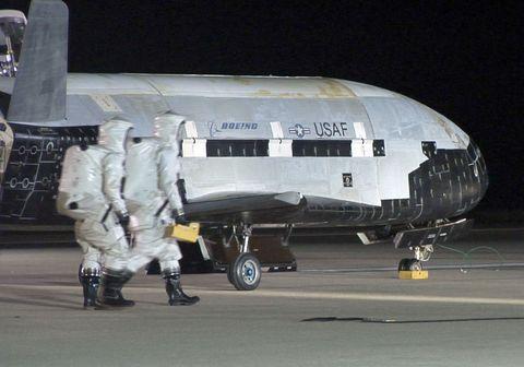 x 37b spaceplane