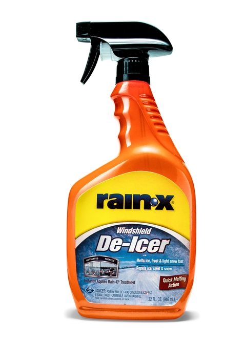 "<p><span>Estimated spray range: 2 ft </span></p><p>The least aggressive ice melter we tested, but it also had the least intense odor. After melting the ice, it leaves behind a residue of classic Rain-X to help keep glass clean. Since it's more of a mist, the Rain-X would be tough to apply in any real wind. </p><p><a href=""https://www.walmart.com/ip/19232315?wmlspartner=wlpa&adid=22222222227025380054&wl0=&wl1=g&wl2=c&wl3=80392905768&wl4=pla-111021638448&wl5=9004072&wl6=&wl7=&wl8=&wl9=pla&wl10=8175035&wl11=online&wl12=19232315&wl13=&veh=sem"" data-tracking-id=""recirc-text-link"">Price: $3</a></p>"