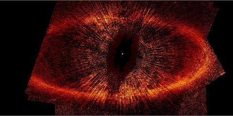 The Star That Looks Like the Eye of Sauron