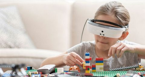 Personal protective equipment, Eyelash, Plastic, Nail, Play, Hearing, Science, Games, Cameras & optics, Toy,