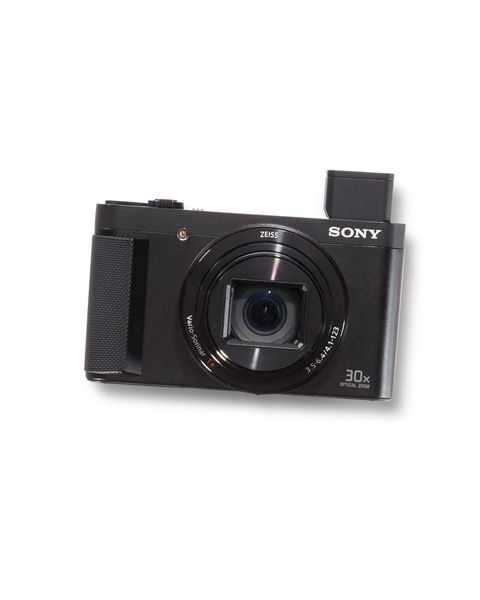 """<p>With a smartphone camera, you shoot predictable, eye-level photos. With a camera camera, you consider framing, shutter speed— variables that result in shots that stand a chance of becoming, you know, photographs. The Sony's small size, pop-up viewfinder, and huge 30x zoom let you get details without making subjects uncomfortable. Plus, you can send photos to your phone for backup and sharing.<span class=""""redactor-invisible-space""""></span></p><p><span class=""""redactor-invisible-space""""><strong data-redactor-tag=""""strong"""" data-verified=""""redactor""""><a href=""""https://www.amazon.com/Sony-DSCHX90V-Digital-Camera-3-Inch/dp/B00VWJOK7M/ref=sr_1_2?ie=UTF8&amp;qid=1487951458&amp;sr=8-2&amp;keywords=Sony+HX90V"""" data-tracking-id=""""recirc-text-link"""">$448</a>&nbsp;on Amazon</strong></span></p>"""