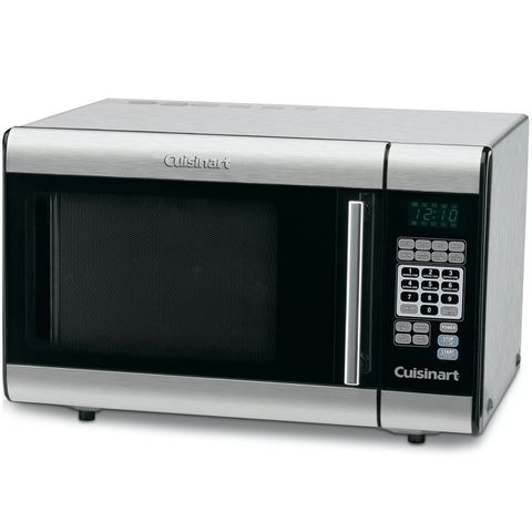 "<p><strong data-redactor-tag=""strong""><i data-redactor-tag=""i"">&nbsp;$122</i></strong> <a href=""https://www.amazon.com/Cuisinart-CMW-100-1-Cubic-Foot-Stainless-Microwave/dp/B000IW9J20?tag=bp_links-20"" data-tracking-id=""recirc-text-link"" target=""_blank"" class=""slide-buy--button"">BUY NOW</a></p><p>You can always count on Cuisinart for quality kitchen appliances. This microwave is no exception, boasting eight preset options with different serving size options for frequently&nbsp;heated foods.&nbsp;</p><p>It has a timer, two defrost functions, and ten customizable power levels for serious versatility. You'll also find a two-stage cooking option, that, for example, would allow you to defrost for a certain amount of time and then automatically switch to regular heating for however long you want. This works for power levels as well, which you can set for certain amounts of time before increasing or decreasing. Plus, you can set custom cook&nbsp;times using the memory function, kind of like pre-setting radio stations in your car!&nbsp;</p>"