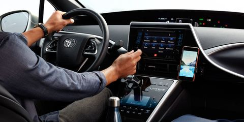 Vehicle, Electronics, Steering wheel, Car, Technology, Multimedia, Electronic device, Center console, Steering part, Automotive design,