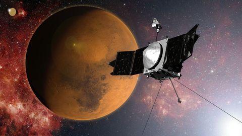 nasa maven satellite