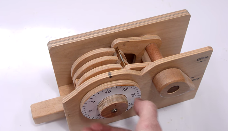 A DIY Wooden Combination Lock Is Rad But Maybe Not Secure