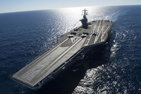 Trump Wants a Fleet of 12 Aircraft Carriers and the Biggest Navy in