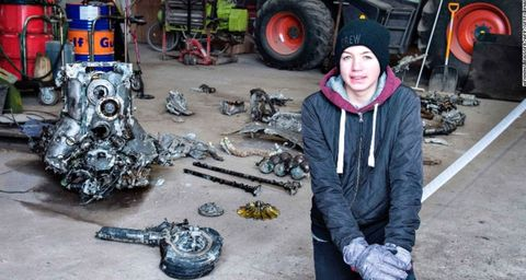 Boy Finds WWII Plane, Complete With the Pilot's Remains
