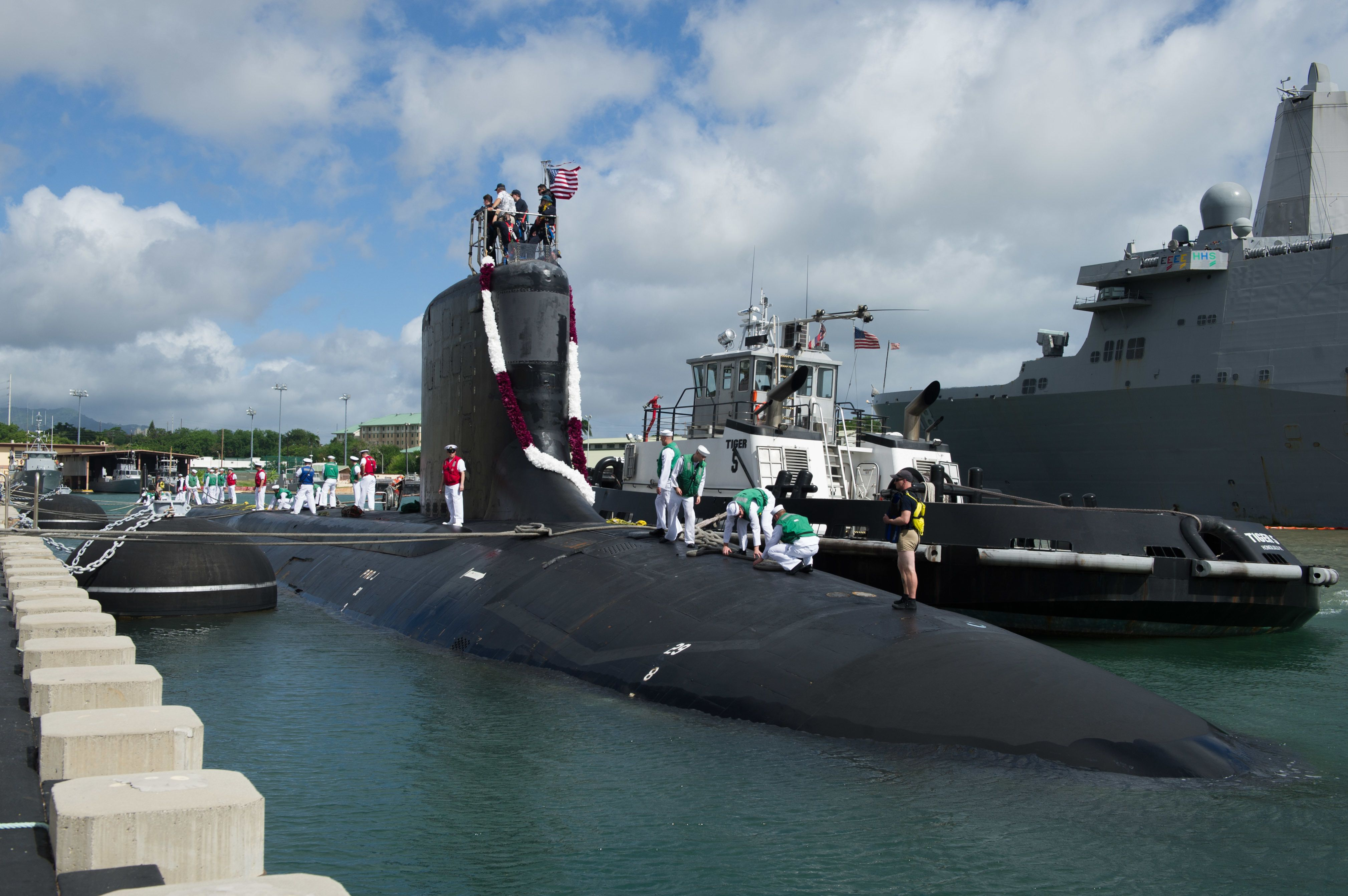 Navy Subs Can't Stop Losing Their Noise-Dampening Skins