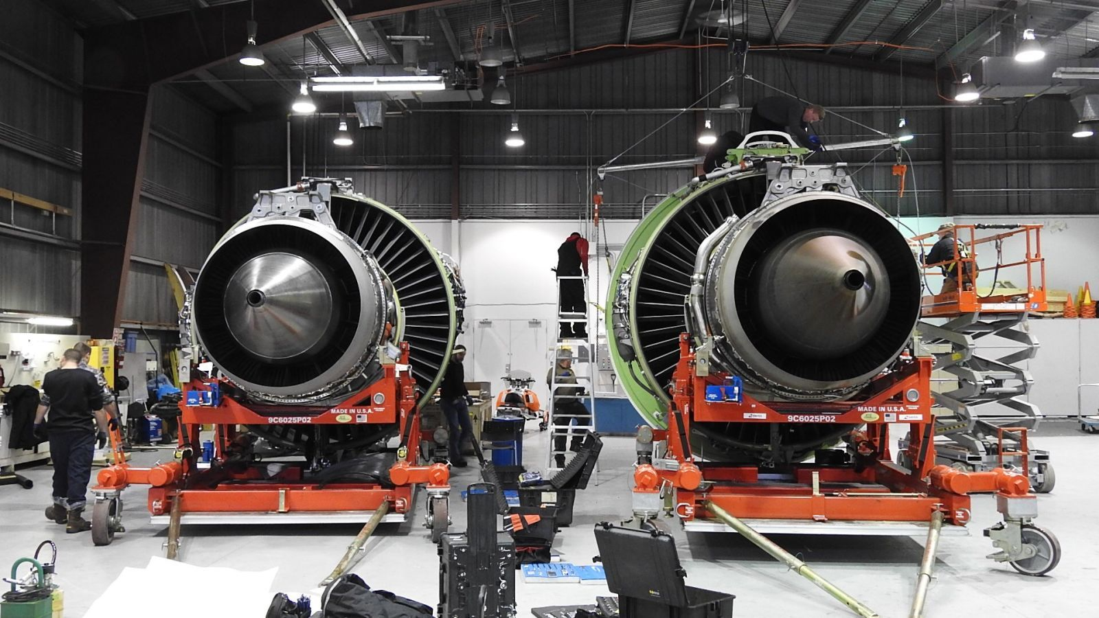 Replacing the World's Largest Jet Engine at 40-Below