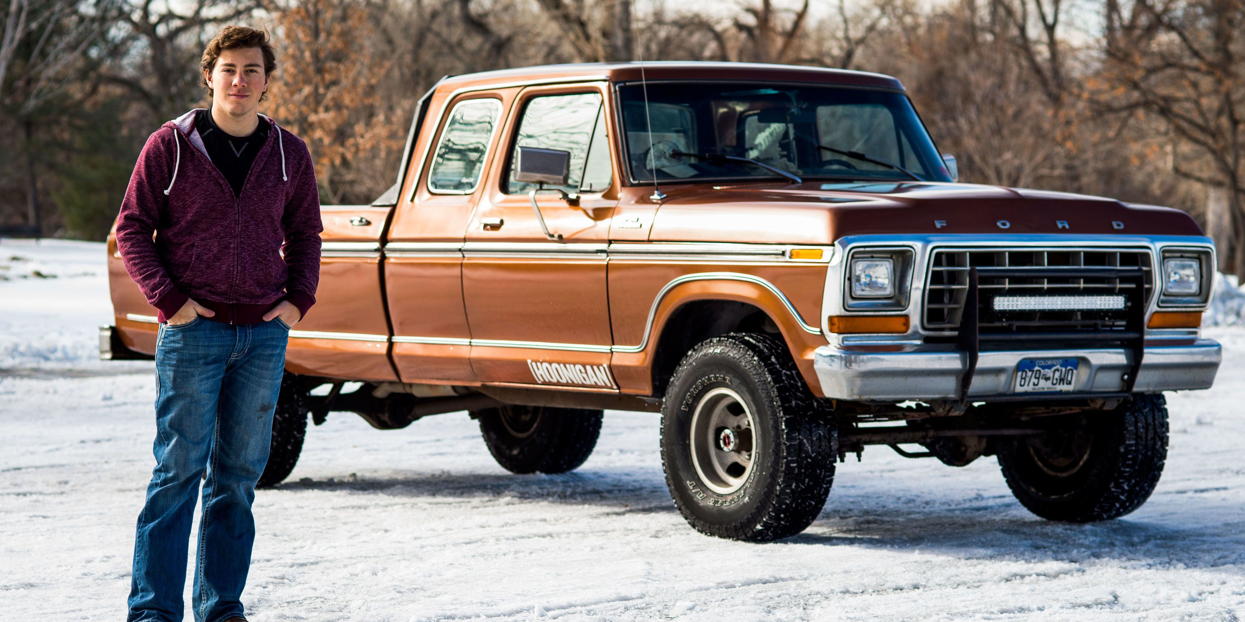 My Ride 1978 Ford F 150 Supercab