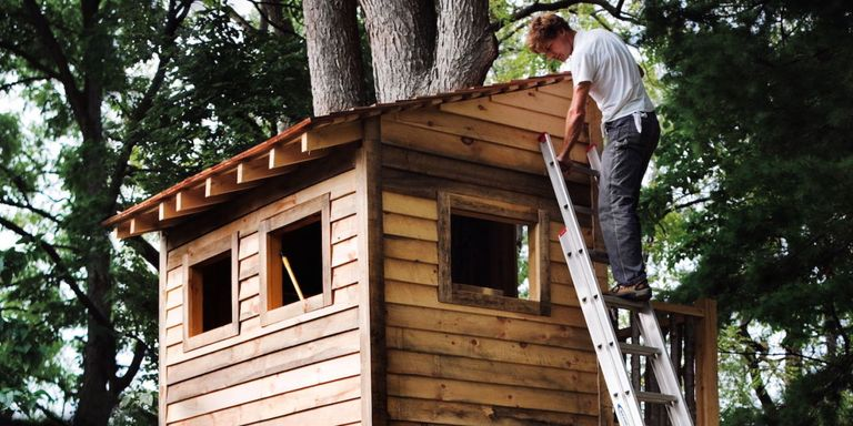 make a world class backyard tree house that will stand the test of time - Tree House Plans