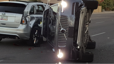 Uber Suspends Self-Driving Tests In Arizona After Crash
