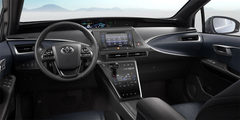 Motor vehicle, Mode of transport, Automotive design, Steering part, Transport, Electronic device, Steering wheel, Center console, Technology, White,