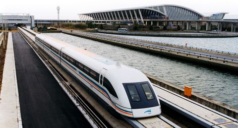 Land vehicle, Train, Transport, High-speed rail, Vehicle, Railway, Mode of transport, Public transport, Rolling stock, Maglev,