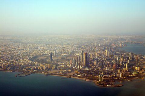 Metropolitan area, City, Water resources, Urban area, Landscape, Tower block, Residential area, Horizon, Bird's-eye view, Waterway,