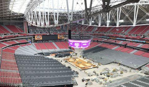 Sport venue, Arena, Stadium, Aerial photography,