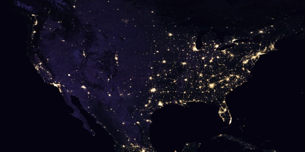 Usa Satellite Map Map Usa Map Images - Satellite map of usa