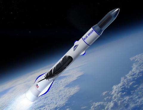 Blue Origin reusable rocket