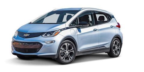 Car Of The Year Chevrolet Bolt
